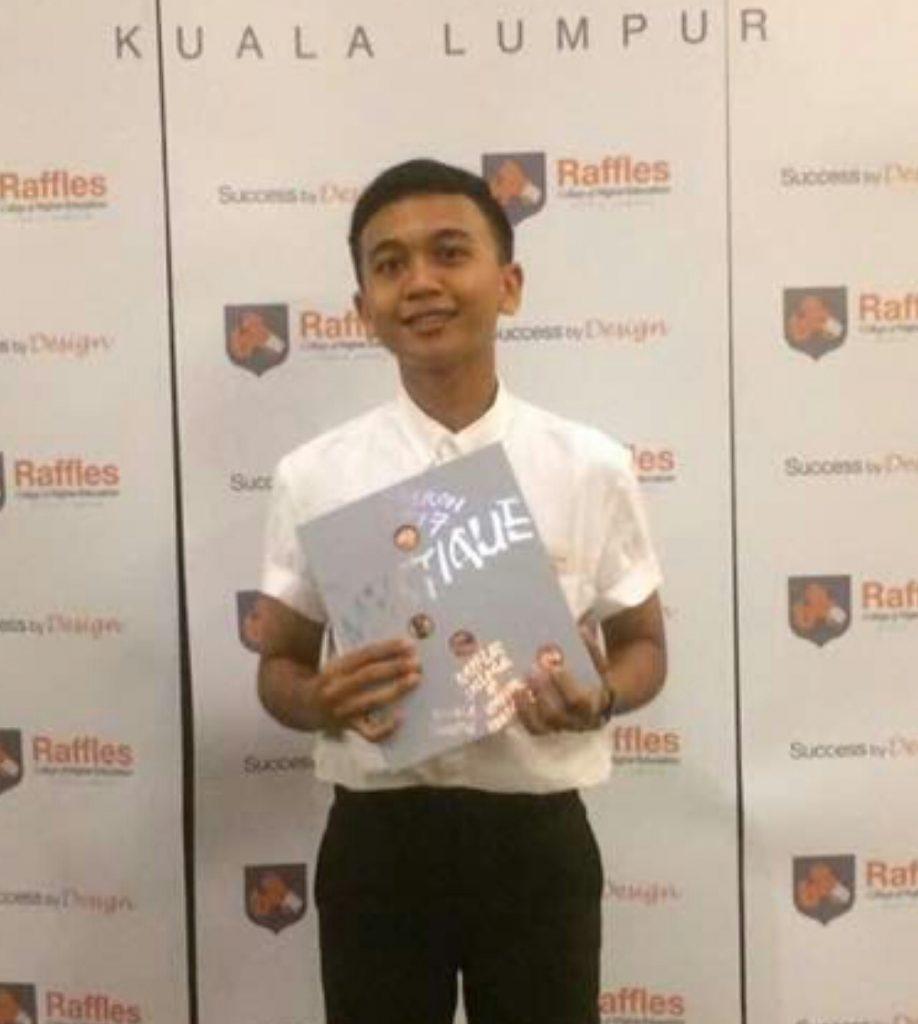 Name: Mr MLS-4_Mr Mohammad Farris Aiman Bin Nor Sarizan Name of School: Vocational College for Home Economics Setapak Kuala Lumpur